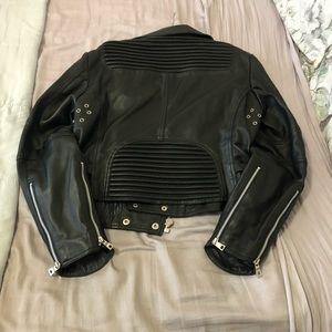 Godspeed Women Leather Moto Jacket